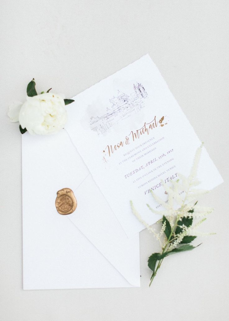 wedding invitations from michaels crafts%0A Nesa and Michael u    s wedding in Venice
