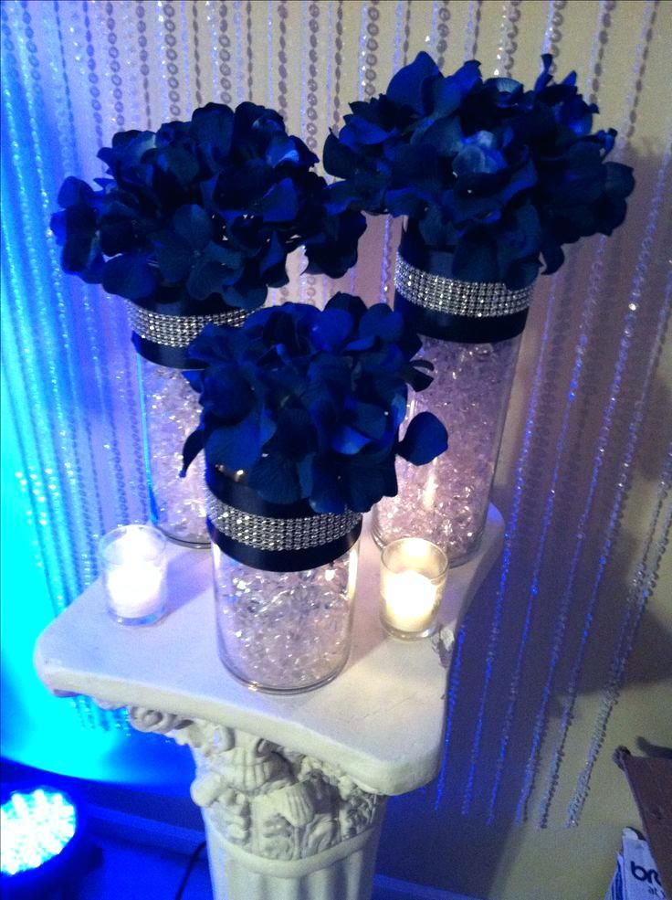 Royal Blue And Silver Wedding Decorations Discover Thousands Of