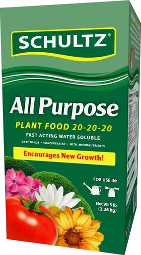 Water Soluble All Purpose Plant Food 20 20 20 Fertilizer 400 x 300