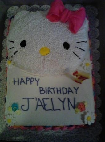 CakeSide - Hello Kitty! submitted by Kakes & Konfections on www.cakeside.com!
