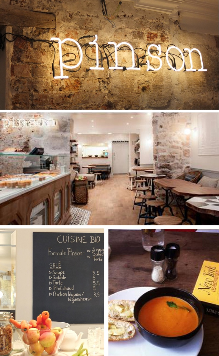CAFÉ PINSON, Coffe Shop healthy & vegan - 6 rue du Forez 75003 Paris, France - 09 83 82 53 53