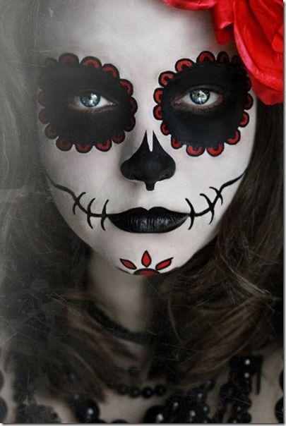 Fotos de maquillajes de Catrina, calavera de azúcar | TODO HALLOWEEN