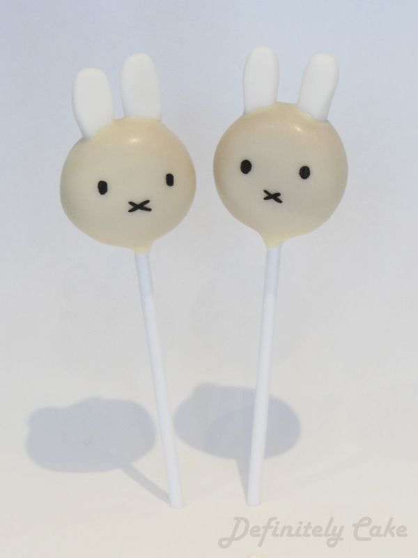 Miffy Cake Pops