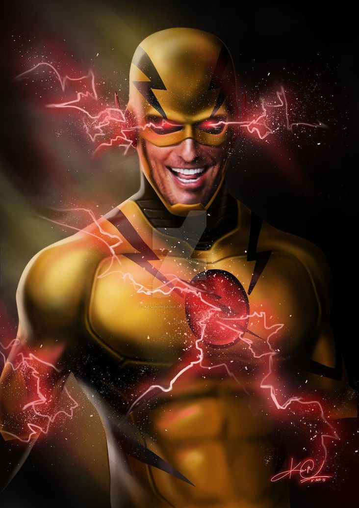 Reverse Flash Professor Zoom Deviantart
