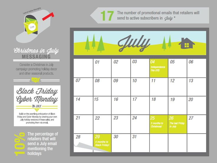 The ExactTarget Blog Email Marketing Holiday Calendar 2013: August Preview & July Review » The ExactTarget Blog