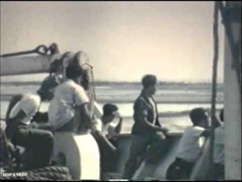 Maluku De overtocht naar Nederland