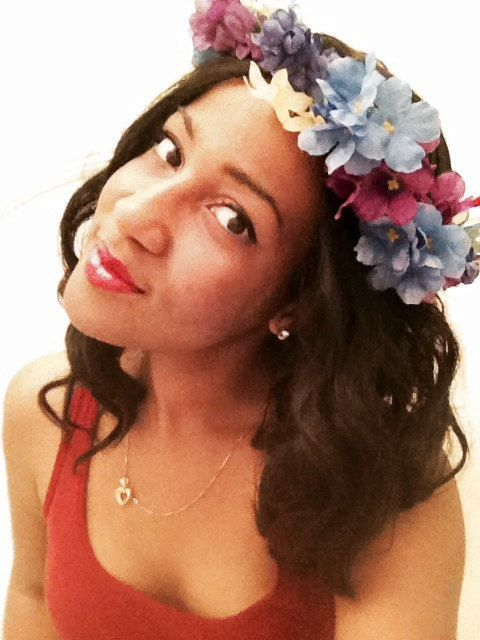 Hydrangea Floral Crown by Juliette Zulema #floralcrown #bridal #boho #chic
