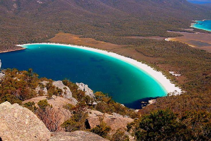 Wineglass-öböl, Tasmánia, Ausztrália
