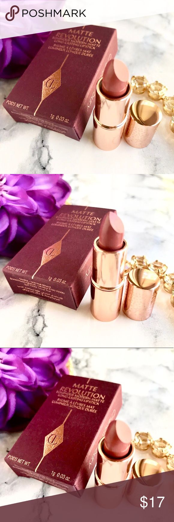 NIB CT Matte Revolution Lipstick PILLOW TALK Boutique