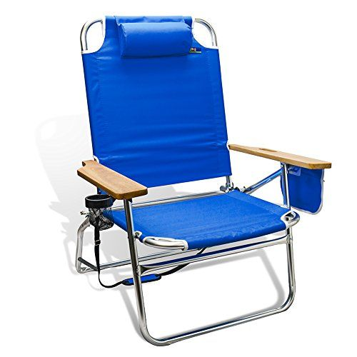 Oversized Heavy Duty 500Lbs Outdoor Beach  Camping Chair Big Jumbo 4 Position Aluminum Dark Blue Heavyweight ExtraWide by JGR Copa >>> Click image to review more details.(This is an Amazon affiliate link and I receive a commission for the sales)