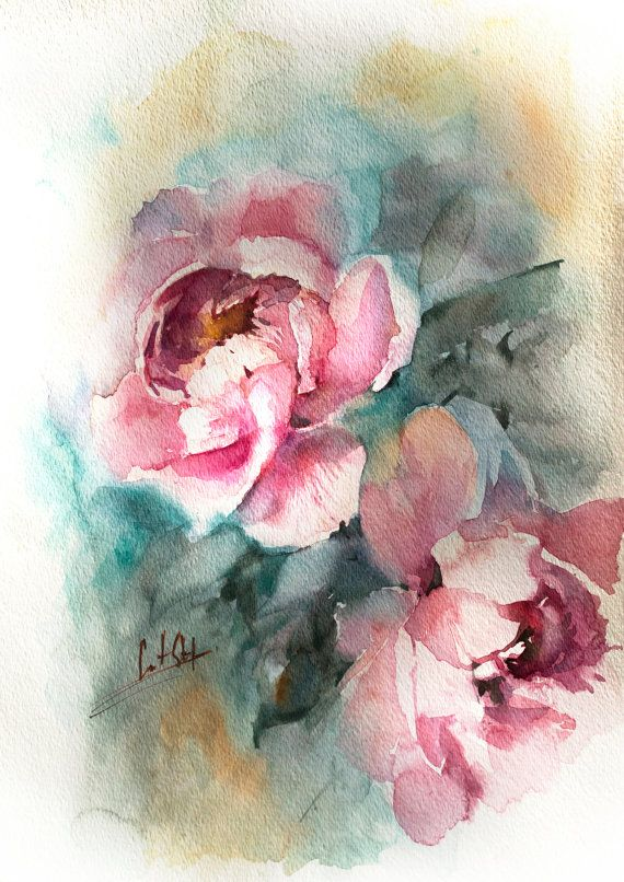 17 best ideas about peony painting on pinterest painting