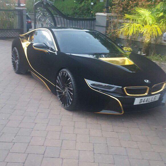 Black And Gold Bmw I8 Cars Custom Mods Etc Pinterest Cars