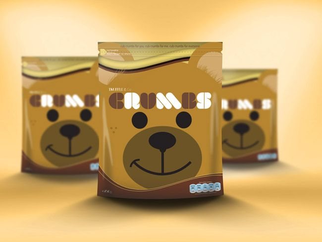 Truffle & Co. presents Cub Crumbs. Bit sized chocolate covered biscuits for everyone