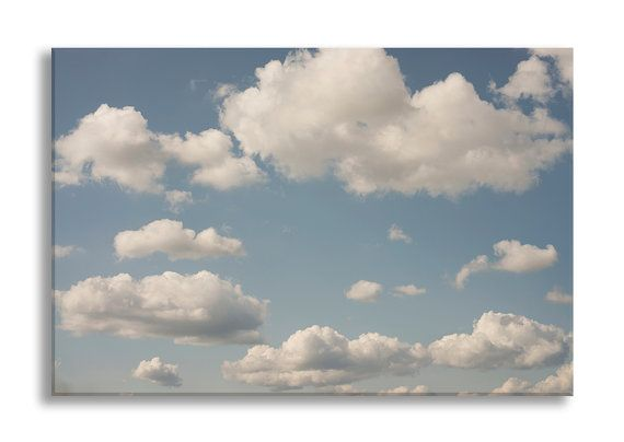 Cloud Photo on Canvas Nature Fine Art Photograph by GeorgiannaLane
