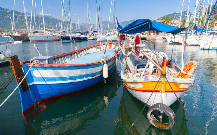 Fishing Boats in Propriano Town, Corsica puzzle in Puzzle of the Day jigsaw puzzles on TheJigsawPuzzles.com. Play full screen, enjoy Puzzle of the Day and thousands more.