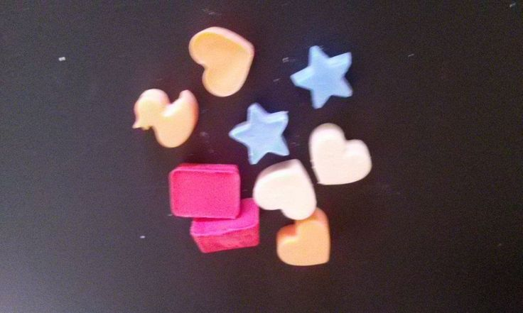 Candy melts in various scents 75c each