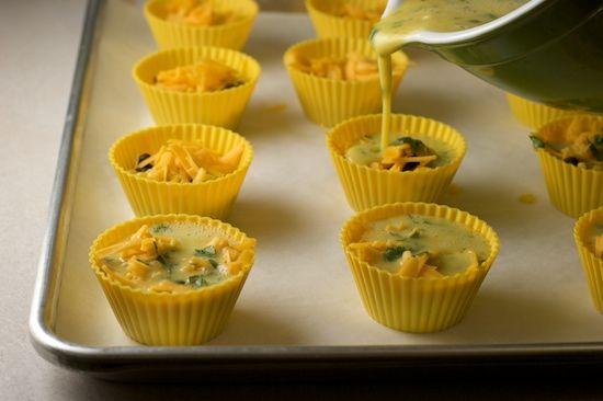 Portable Omelette: Southwest Style Egg Muffins Recipe | Good morning ...