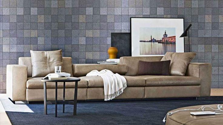 Il divano in pelle è un evergreen che coniuga eleganza e carattere, per un salotto che non stanca mai! http://www.arredamento.it/divano-pelle.asp #divanoinpelle #divano #pelle #salotto #living