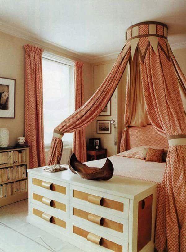 32 super coole Schlafzimmer Dekor Ideen für den Fuß des Bettes