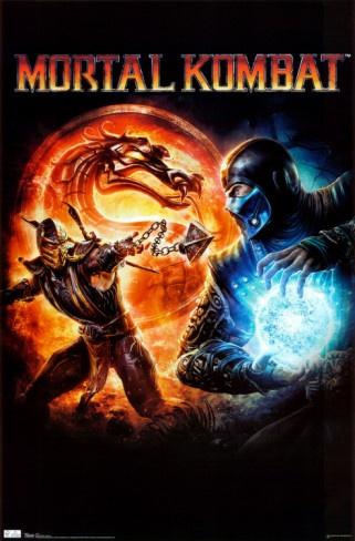 Mortal Kombat Poster 22x34