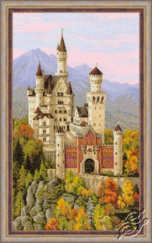 Neuschwanstein Castle - Cross Stitch Kits by RIOLIS - 1520