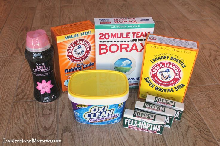 This homemade Easy DIY Powder Laundry Detergent will not only leave your laundry...