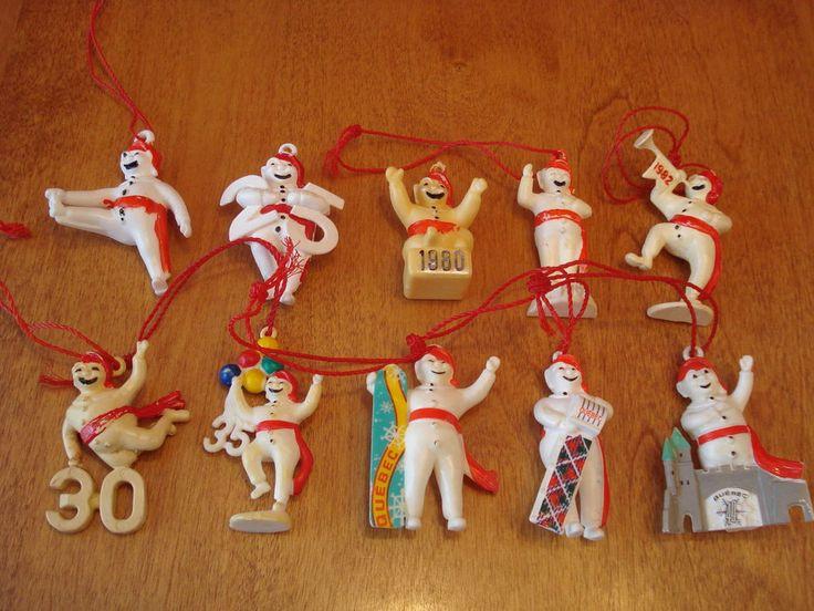 Quebec Winter Snow Carnaval figures (Carnival Effigy Souvenir) **Lot of 10**