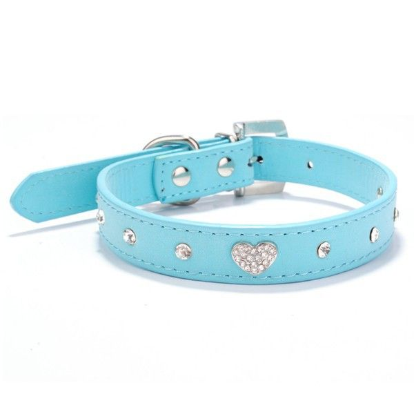 High Quality! Adjustable Pet Collar Rhinestone Crystal Heart Dog Cat Puppy Necklace XS/S/M // FREE Shipping //     Get it here ---> https://thepetscastle.com/high-quality-adjustable-pet-collar-rhinestone-crystal-heart-dog-cat-puppy-necklace-xssm/    #pet #animals #animal #dog #cute #cats #cat