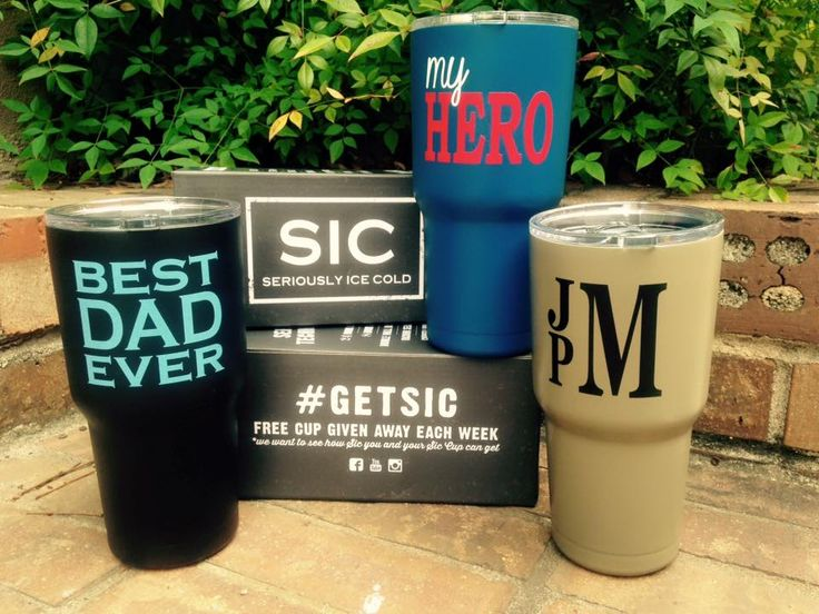 SIC Cups #sic #cup #seriouslyicecold #monogram