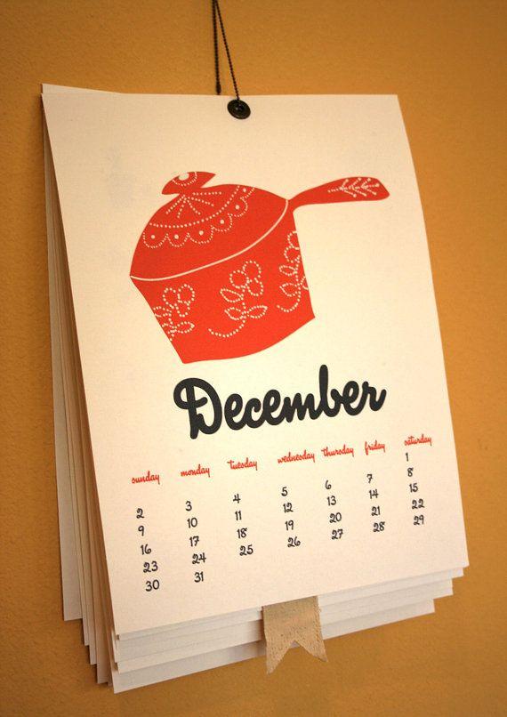 Love this calendar by @feb10 design