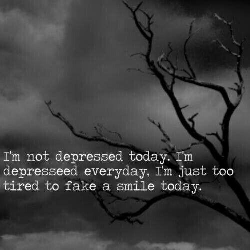 Dark Quotes About Depression: 254 Best I'm Broken...depression Images On Pinterest
