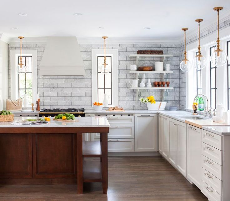 Kitchens With No Upper Cabinets: While No Upper Cabinets Removes Storage Space, It All