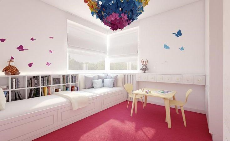 Kolorowe pokoje dla dziewczynek
