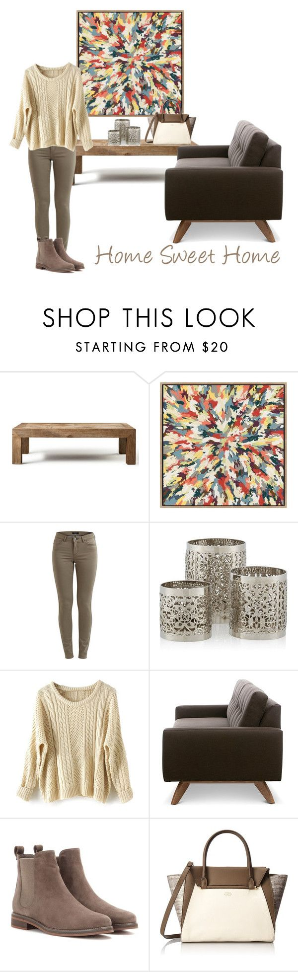 """""""Home Sweet Home"""" by claavedefa ❤ liked on Polyvore featuring interior, interiors, interior design, home, home decor, interior decorating, Flamant, VILA, TrueModern and Loro Piana"""