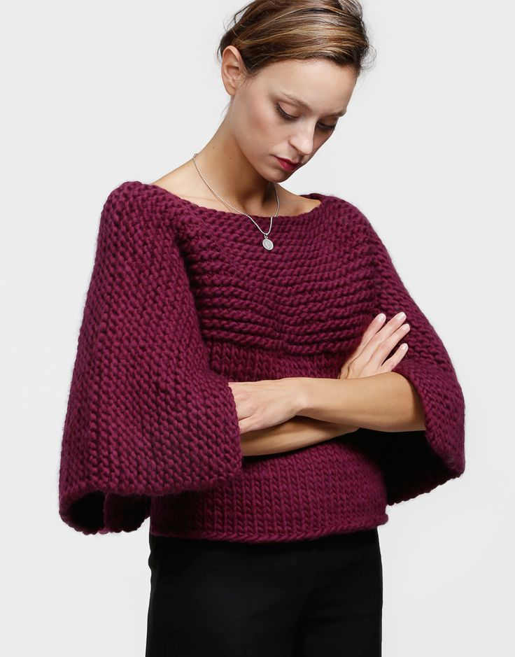 Fair Lady Cape by Wool and the Gang #knitting #knit #cape