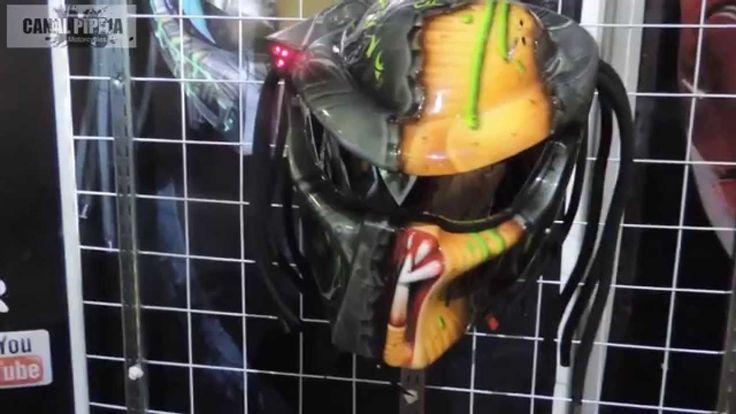 Casco Depredador y IRONMAN para moto (cascos luxor)