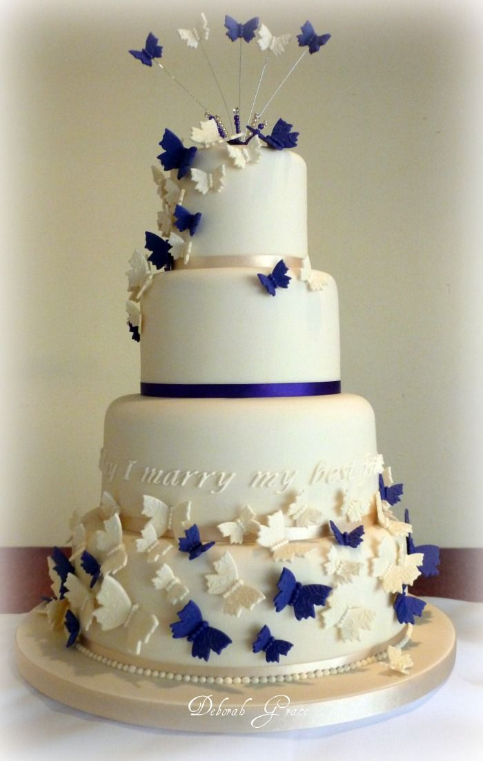 butterfly wedding cakes decoration cake picture ideas prayface cake decorating how to master sugarcraftin cake decorating circles sugarcraft has become - Wedding Cake Design Ideas