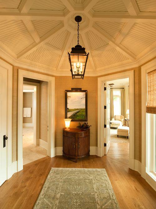 Octagonal Foyer Ginger S Design And Decor Pinterest Ceiling Design Classy And