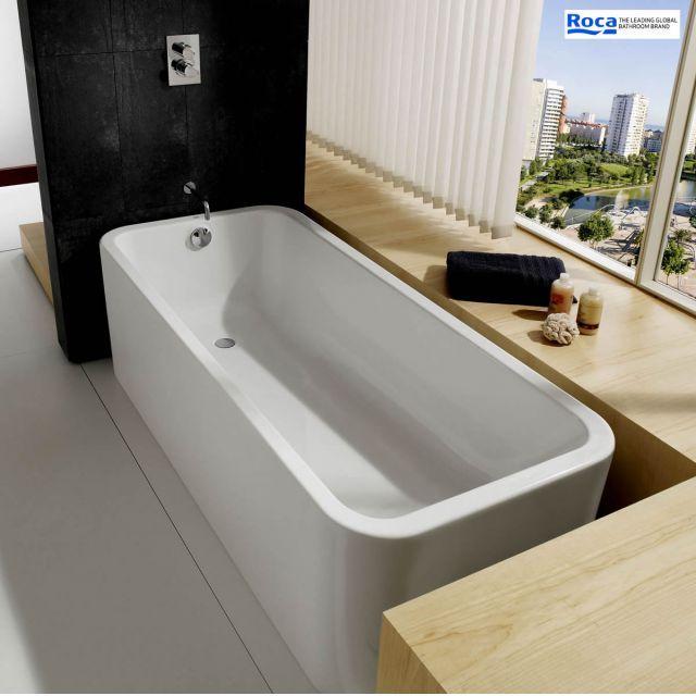Roca Elements 1800 x 800mm Luxury Acrylic Bath