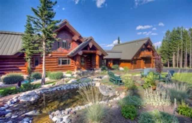 17 best images about luxury log homes beautiful living on pinterest luxury log cabins - Large summer houses energizing retreat ...