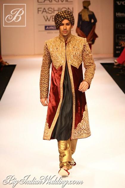 Shyamal & Bhumika designer wear for grooms