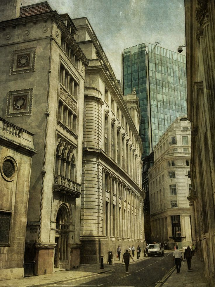 https://flic.kr/p/fbFFZU | Into the City | sarahjarrettart.blogspot.co.uk/2013/07/london-calling.html
