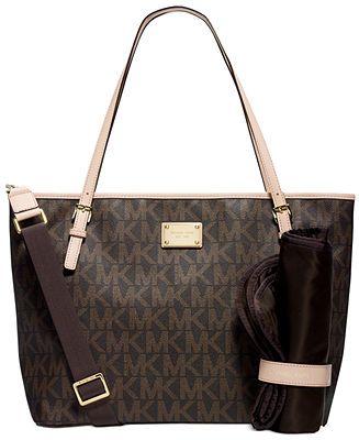 MICHAEL Michael Kors Jet Set Diaper Bag - Handbags & Accessories - Macy's
