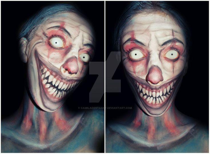 27 best evil clown images on Pinterest | Halloween ideas, Evil ...