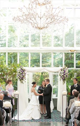 The Madison Hotel - Morristown, NJ~ At The Madison Hotel weddings are as magical as they are memorable. Under the sun or under the stars, The Conservatory offers the most romantic of settings in which to exchange your vows. The magnificent Glynallyn Ballroom, with its sweeping fourteen foot ceilings, damask wallpaper, gilded accents and stunning crystal & gold antique Baccarat chandeliers, is sure to enchant your guests and make your wedding an event that will be remembered for years to…