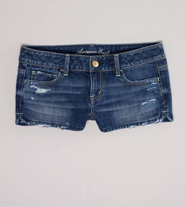 an amazing pair of jean short shorts