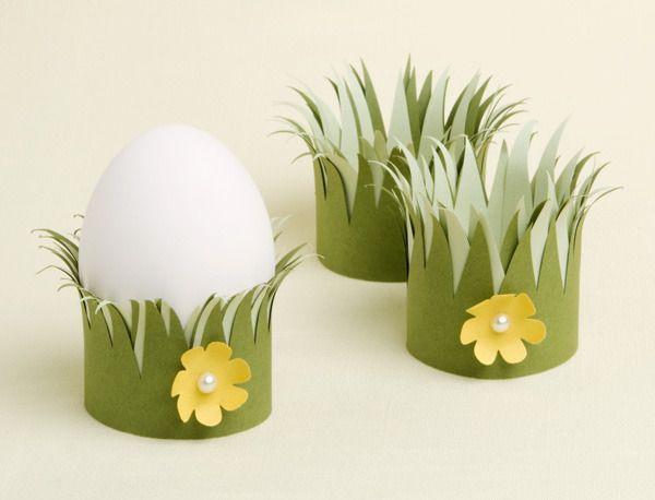 Cute Easter egg holders! #EasterHatsForWomen