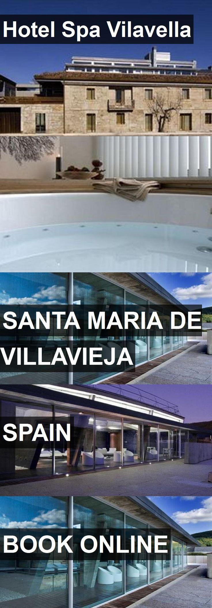 Hotel Spa Vilavella in Santa Maria de Villavieja, Spain. For more information, photos, reviews and best prices please follow the link. #Spain #SantaMariadeVillavieja #travel #vacation #hotel