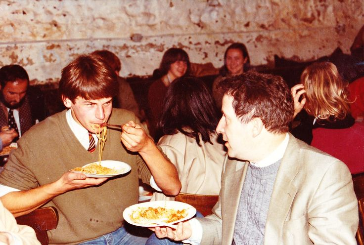 Hackens, Tony (1938-1997) Louvain-la-Neuve, Oct. 1982, with François de Callataÿ