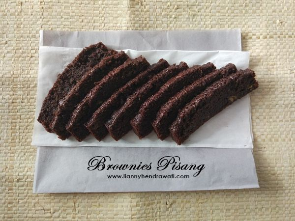Brownies pisang super moist